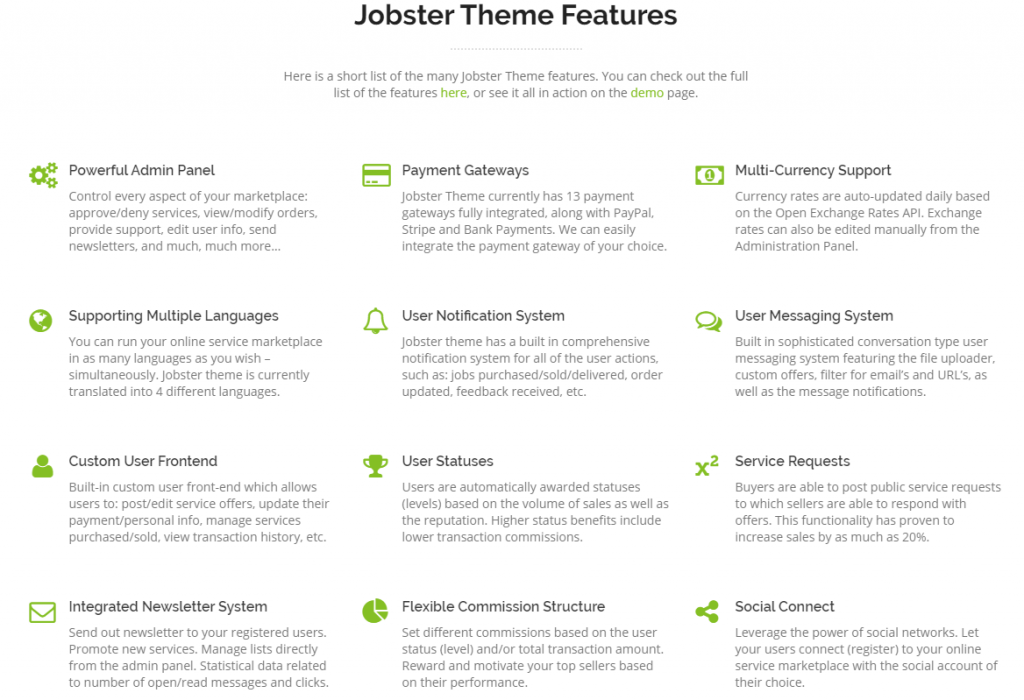 WP Jobster Review Features