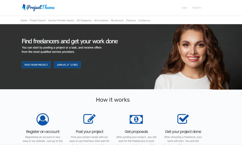 Project Bidding Freelancer Script From Sitemile an UpWork Clone